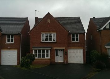 Thumbnail 4 bedroom detached house to rent in The Limes, Walsall