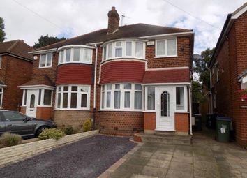 Thumbnail 3 bed semi-detached house for sale in Waddington Avenue, Great Barr, Birmingham