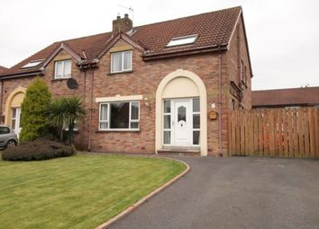 Thumbnail 3 bed semi-detached house for sale in Cronstown Cottage Crescent, Newtownards
