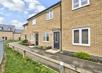 Thumbnail 2 bed terraced house for sale in Meadow Gardens, Huntingdon, Cambridgeshire