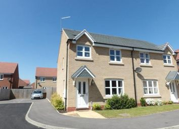 Thumbnail 3 bed semi-detached house for sale in Wattle Close, Sileby, Loughborough, Leicestershire
