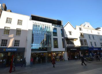 Thumbnail 2 bed flat to rent in High Street, Exeter, Devon