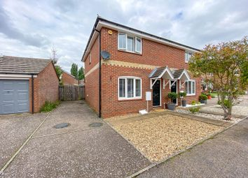 Thumbnail 3 bed semi-detached house for sale in Bulrush Close, Horsford, Norwich