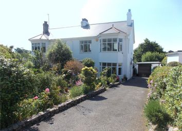 Thumbnail 3 bed semi-detached house for sale in Clements Road, Penzance, Cornwall