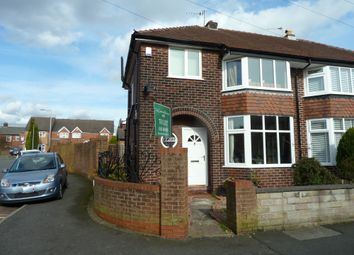 Thumbnail 3 bed semi-detached house to rent in Claremont Road, Stockport