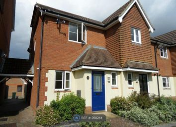 Thumbnail 2 bed end terrace house to rent in Hestia Way, Ashford