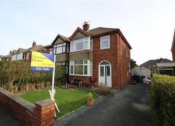 Thumbnail 3 bed semi-detached house for sale in Langholme Road, Penwortham, Preston