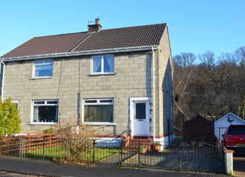 Thumbnail 2 bed semi-detached house for sale in Feorlin Way, Garelochhead, Helensburgh