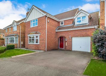 Thumbnail 4 bed detached house for sale in Alvis Drive, Yaxley, Peterborough