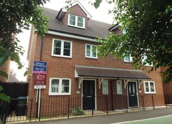 Thumbnail 3 bed semi-detached house to rent in Rowan Way, Littlehampton