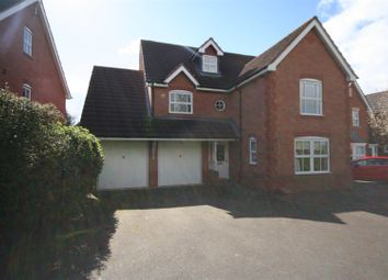 Thumbnail 5 bed detached house for sale in Tansy Close, Claines, Worcester