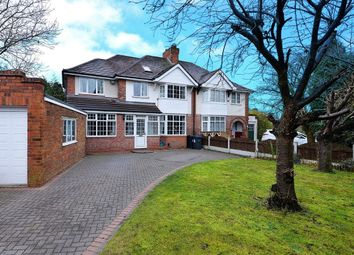 Thumbnail 5 bed semi-detached house for sale in Jacey Road, Edgbaston, Birmingham
