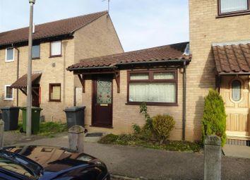 Thumbnail 1 bedroom terraced bungalow to rent in Hexham Court, Peterborough