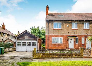 Thumbnail 4 bed semi-detached house for sale in Grange Avenue, Birkby, Huddersfield