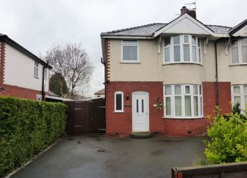 Thumbnail 3 bed semi-detached house for sale in Crookings Lane, Penwortham, Preston