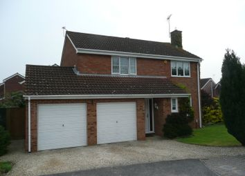 Thumbnail 4 bed detached house to rent in Audley Close, Grange Park, Swindon
