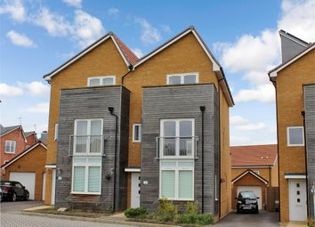 Thumbnail 4 bed town house for sale in Wannamaker Gardens, Oxley Park, Milton Keynes