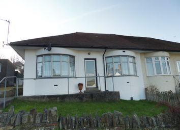 Thumbnail 3 bedroom semi-detached bungalow for sale in Penlan Road, Llandough, Penarth