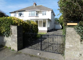Thumbnail 3 bedroom semi-detached house for sale in Jurby Road, Ramsey, Isle Of Man