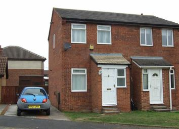 Thumbnail 2 bed semi-detached house to rent in Byron Close, Billingham