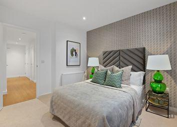 Thumbnail 2 bed flat for sale in Shackleton Way, Royal Albert Wharf, London