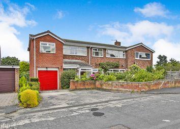 Thumbnail 4 bed semi-detached house for sale in Aspen Close, Gilesgate, Durham