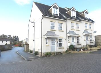 Thumbnail 3 bed town house for sale in Paddock Close, Pillmere, Saltash
