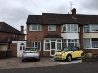 Thumbnail 5 bed semi-detached house for sale in Meriden Drive, Kingshurst