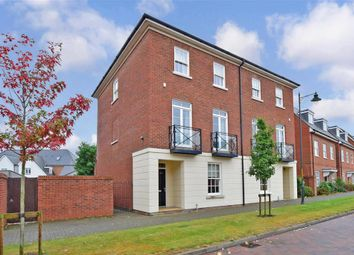 Thumbnail 5 bed town house for sale in Beacon Avenue, Kings Hill, West Malling, Kent