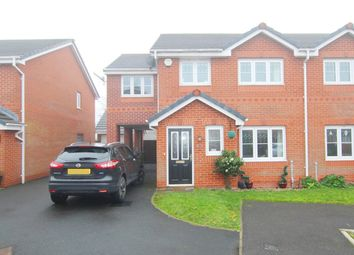 Thumbnail 5 bed semi-detached house for sale in Weavermill Park, Ashton-In-Makerfield, Wigan
