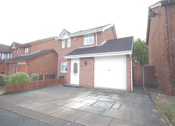 Thumbnail 3 bed detached house for sale in Eider Close, Thornton-Cleveleys