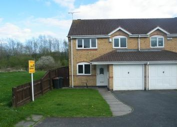Thumbnail 3 bed semi-detached house to rent in Loweswater Grove, Ashby De La Zouch