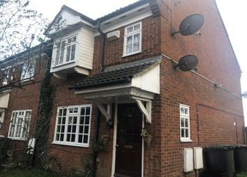 Thumbnail 3 bedroom terraced house to rent in Dorrington Close, Luton