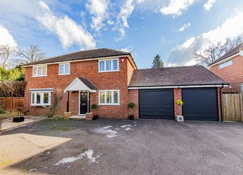 Thumbnail 4 bed detached house for sale in Chetwode Close, Wokingham, Berkshire
