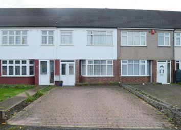 Thumbnail 3 bed terraced house for sale in Southend Arterial Road, Gidea Park, Romford