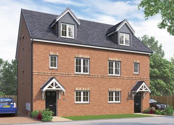 "Thumbnail 4 bed semi-detached house for sale in ""The Weybridge"" at Chilton, Ferryhill"