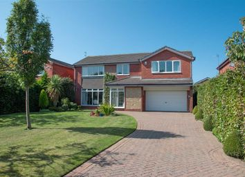 Thumbnail 5 bed detached house for sale in Romford Close, Barns Park, Cramlington