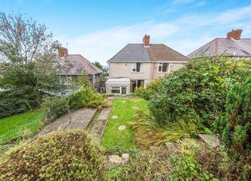 Thumbnail 3 bedroom semi-detached house for sale in Gwynedd Avenue, Cockett, Swansea