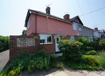 Thumbnail 3 bed semi-detached house for sale in Rectory Road, Rowhedge, Essex.