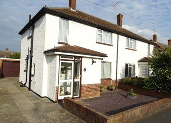Thumbnail 3 bed semi-detached house for sale in Copthall Way, New Haw