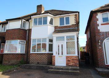 Thumbnail 3 bed semi-detached house for sale in Hansons Bridge Road, Erdington, Birmingham