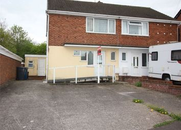 Thumbnail 2 bed semi-detached house for sale in Ashleigh Drive, Belgrave, Tamworth, Staffordshire