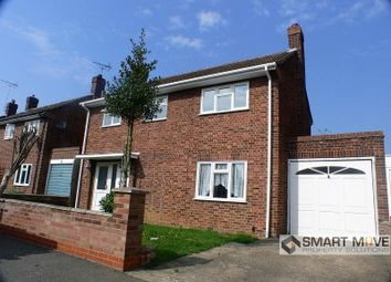 Thumbnail 3 bedroom detached house for sale in Gildenburgh Avenue, Peterborough, Cambridgeshire.
