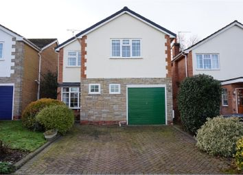 Thumbnail 4 bed detached house for sale in Kingland Drive, Leamington Spa