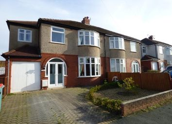 Thumbnail 4 bedroom semi-detached house for sale in Clifton Avenue, Preston, Lancashire, .