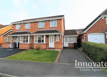 Thumbnail 3 bed semi-detached house for sale in Ludgate Close, Tividale, Oldbury