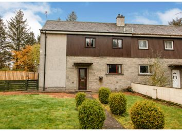 Thumbnail 3 bed terraced house for sale in Woodlands Avenue, Forfar