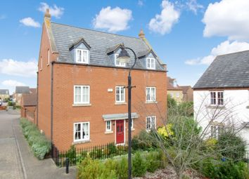Thumbnail 5 bed detached house for sale in Ploversfield, Sandy