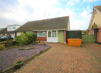 Thumbnail 2 bed semi-detached bungalow for sale in Abbey Road, Hullbridge, Hockley