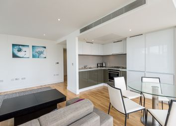 Thumbnail 2 bed flat to rent in Landmark West Tower, Marsh Wall